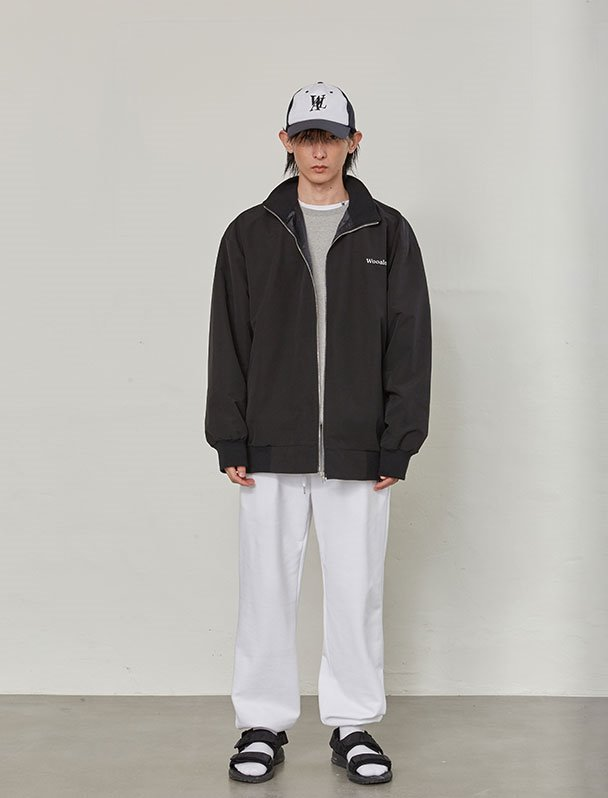 Utility over-fit jacket - BLACK