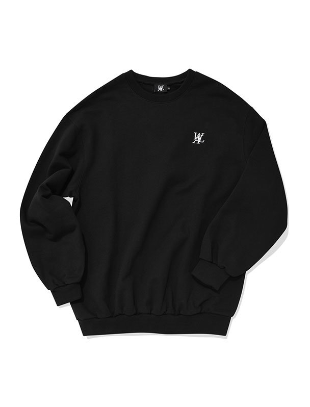 Signature sweatshirt - BLACK