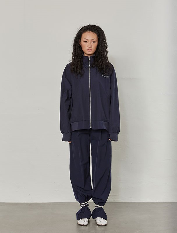 Utility over-fit jacket - NAVY