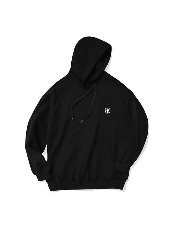 Original balloon-fit hoodie - BLACK