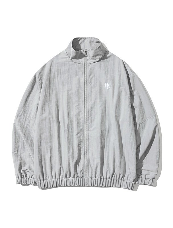 Daily track jacket - LIGHT GREY